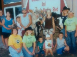 A Picture of the Fulp Family at the 2010 Ozark Empire Fair
