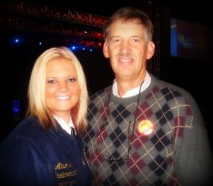 My dad was my FFA Advisor!
