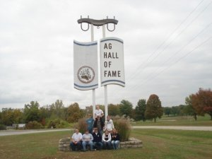 Trips to places like the National Ag Hall of Fame are example of field trips FFA chapters take.