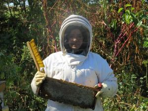 SAE Project- Beekeeping Photo Courtesy of- Erin Mullins, West Nodaway FFA Chapter- Missouri