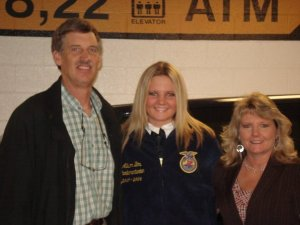My parents were my inspiration to be so involved in FFA.