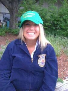 FFA makes me HAPPY, HAPPY, HAPPY!  Photo Courtesy of Kerstine Whittaker, Republic FFA Chapter- Missouri