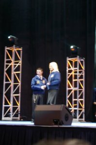 """Walking across that National FFA Convention stage is something I will never forget..""  -Alison Bos"