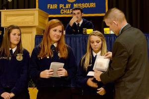Chapter Banquet!  Photo Courtesy of: Haleigh Bruce, Fair Play FFA Chapter- Missouri