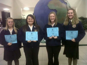 Hard work does pay off! Photo Courtesy of: Jessica Verch. Billings FFA Chapter